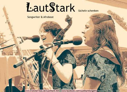Lautstark-Plakat