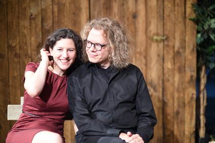 Cristina Zeitz und Andreas Ravn